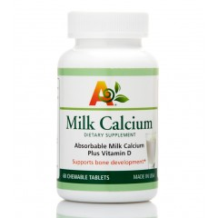 Milk Calcium(60 Chewable Tablets)